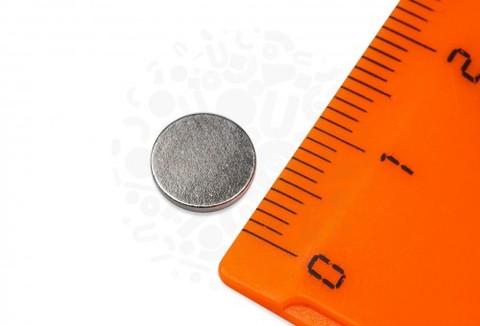 Неодимовый магнит диск 8х1 мм