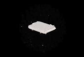 Неодимовый магнит прямоугольник 24х18х3 мм