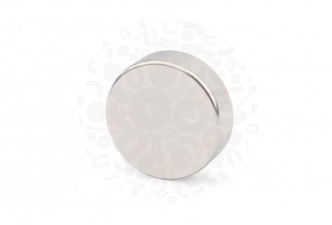 Неодимовый магнит диск 25х8 мм