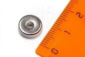 Неодимовый магнит кольцо 10,5x6,5x3 мм