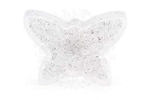 Магнит с кристаллами СВАРОВСКИ Бабочка