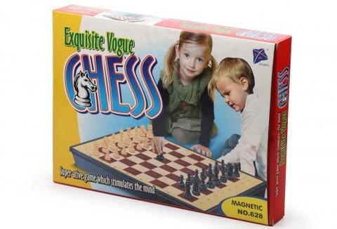 Магнитные шахматы с ящиком