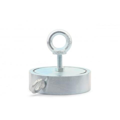 Поисковый магнит двухсторонний F600х2 (К), сила сц. 690 кг
