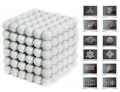 Forceberg Cube - куб из магнитных шариков 5 мм, белый, 216 элементов