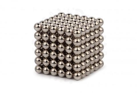 Forceberg Cube - куб из магнитных шариков 5 мм, стальной, 216 элементов