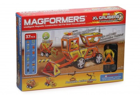Конструктор Magformers XL Cruisers Строители