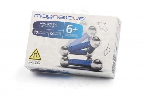 Конструктор Magneticus 16 элементов (синий)