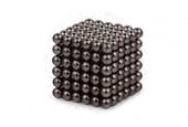 Forceberg Cube - куб из магнитных шариков 6 мм, черный, 216 элементов