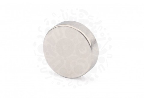Неодимовый магнит диск 18х5 мм