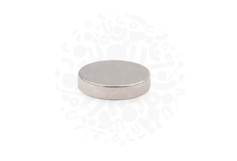 Неодимовый магнит диск 14.5х4 мм