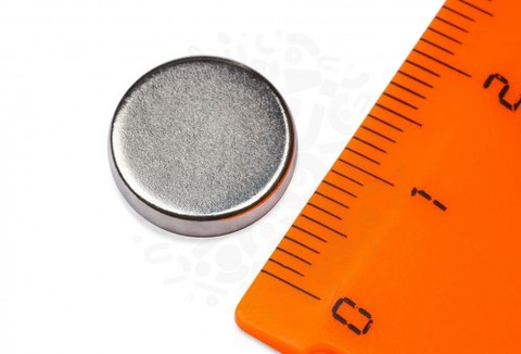 Неодимовый магнит диск 13х3 мм