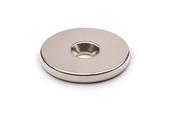 Неодимовый магнит диск 25х3 мм с зенковкой 4.5/7.5 мм