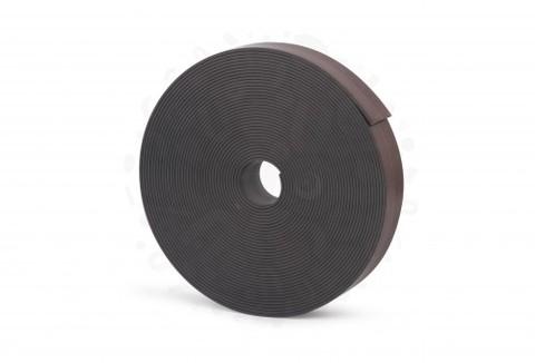 Магнитная лента 25.4 мм, рулон 10м с клеевым слоем