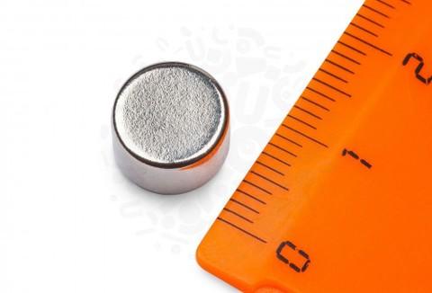 Неодимовый магнит диск 10х6 мм