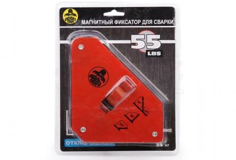 Магнитный держатель для сварки отключаемый. Максимальное усилие 23 кг