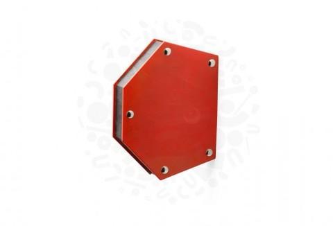 Магнитный держатель для сварки для 6-ти углов. Максимальное усилие 35 кг