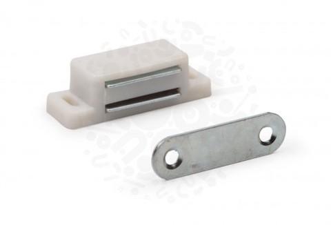 Мебельный магнит (белый)