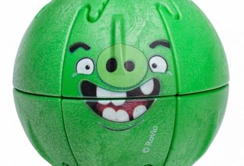 Магнитный пазл Крашик Angry Birds Minionpig
