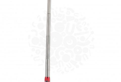 Телескопический фонарь с магнитом (Красный)