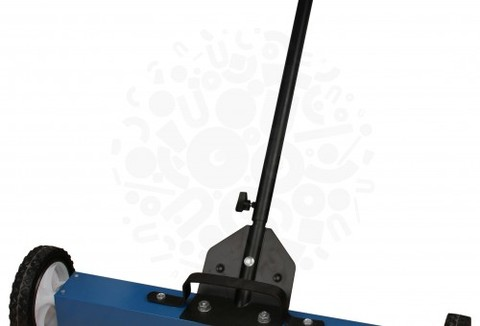 Магнитный телескопический сборщик на колесах с функцией сброса