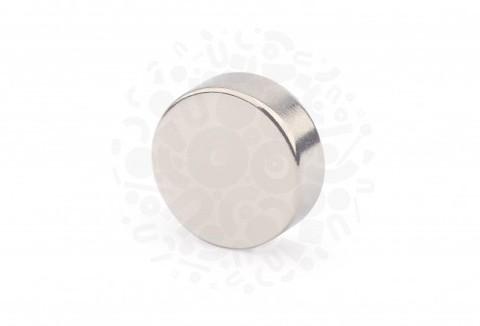 Неодимовый магнит диск 20х7 мм
