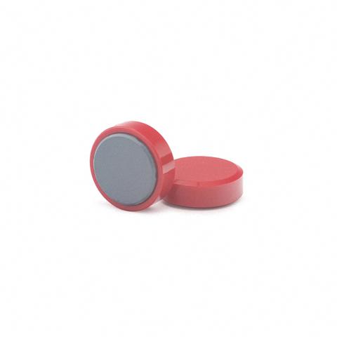 Магнит для досок, D20(красный)