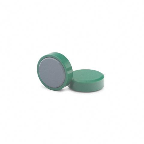 Магнит для досок, D20(зелёный)