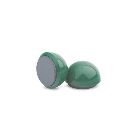 Магнит для досок круглый, D30(зелёный)