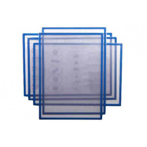 Магнитная слайд-рамка А3 матовая, синяя (5 шт)