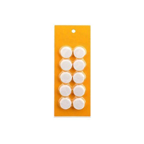 Магниты для досок D20 (белые), 10шт. в блистере