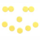 Магниты для досок D20 (желтый), 10шт. в блистере