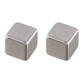 Магниты Hama квадрат 10х10 мм, 2 шт