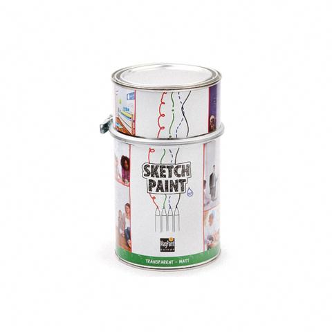 Маркерное покрытие SketchPaint, белое матовое, 1 литр, на 6 м²