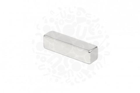 Неодимовый магнит прямоугольник 10х10х40 мм