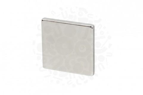 Неодимовый магнит прямоугольник 35х35х4 мм
